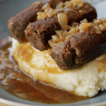 cobnut sausages
