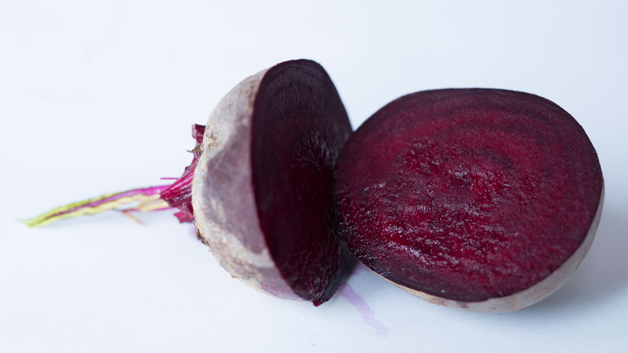 Sliced beetroot