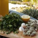 Green-Almond pesto